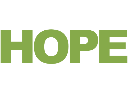 you can bring the hope they're looking for.